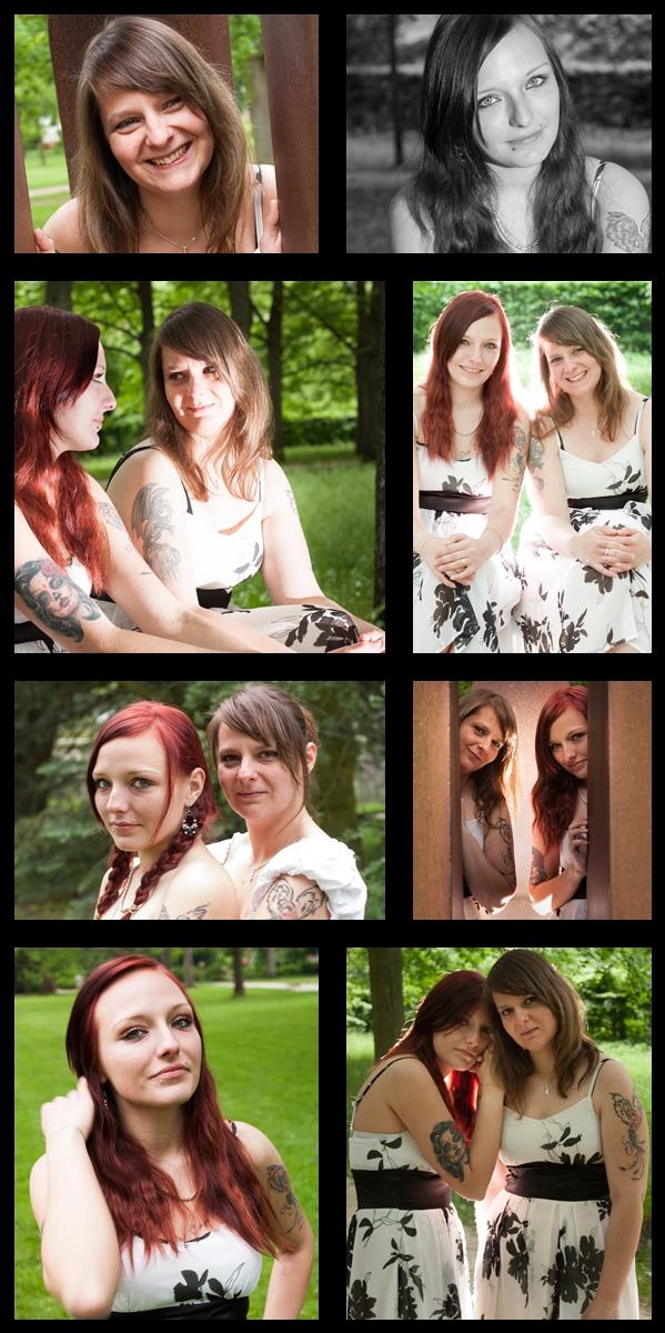 Collage Jenny & Sara