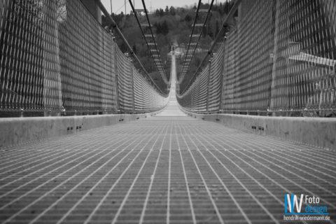 Hängebrücke Harz, Rappbodetalsperre – Mai 2017